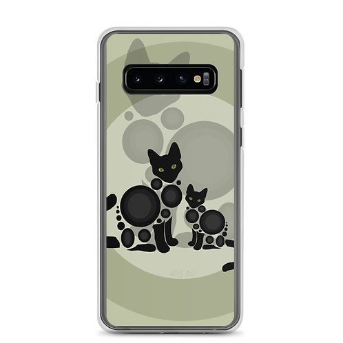 """Samsung Case """"Meow"""" by Astralseed"""