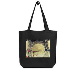 "Tote bag ""Winter in Paris"" by ""Takmaj"""