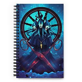"""Notebook """"Fates"""" by DasGnomo"""