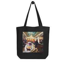 "Tote bag ""Grand International Hotel"" by ""JeffLeeJohnson"""