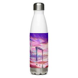 """Water Bottle """"Lost in Memories"""" by Ashnoalice"""