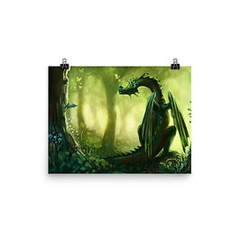 """Poster """"Forest"""" by Hymnodi"""