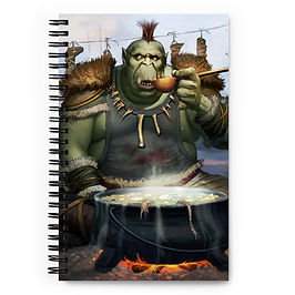 "Notebook ""Needs Salt"" by JeffLeeJohnson"