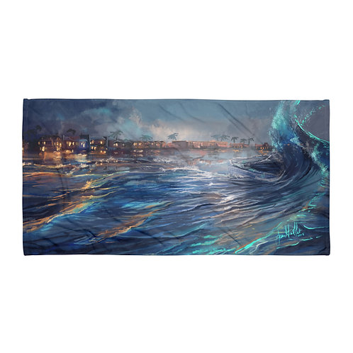 """Beach Towel """"Pismo Beach"""" by """"chateaugrief"""""""