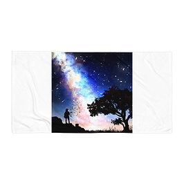 "Beach Towel ""Orion's Call"" by Saddielynn"
