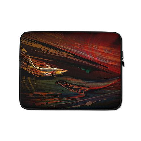 "Laptop sleeve ""Branchia"" by Culpeo-Fox"