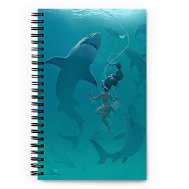 """Notebook """"Pearl Diver"""" by Vashperado"""