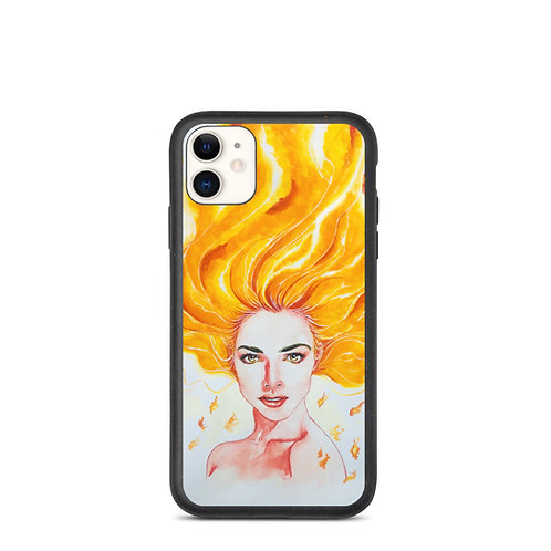 "iPhone case ""Burn"" by Bikangarts"