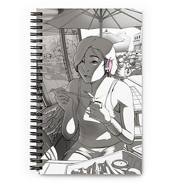 """Notebook """"Beach Meal"""" by Ccayco"""