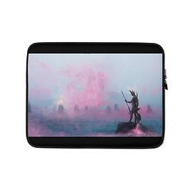 "Laptop sleeve ""Fisherman"" by Dark-indigo"