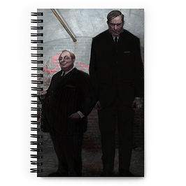 """Notebook """"The Old Firm"""" by JeffLeeJohnson"""