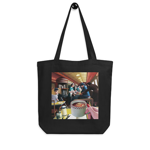 """Tote bag """"Blue Plate Special"""" by """"JeffLeeJohnson"""""""