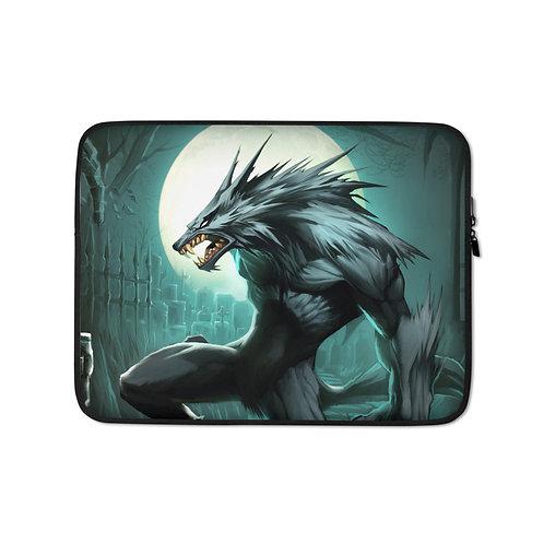 """Laptop sleeve """"Werewolf"""" by El-grimlock"""