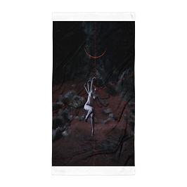 """Beach Towel """"Lilith 34:14"""" by Dark-indigo"""