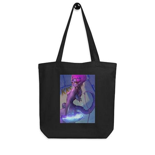 "Tote bag ""Purple Girl"" by ""Elsevilla"""