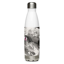 """Water Bottle """"Traffic"""" by Ccayco"""