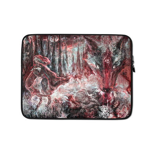 """Laptop sleeve """"Red Riding Hood"""" by Solar-sea"""
