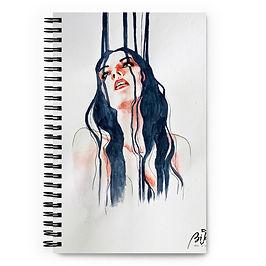 "Notebook ""Overflow"" by Bikangarts"