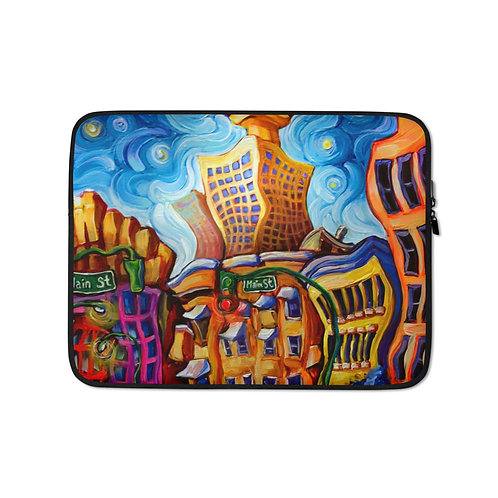 """Laptop sleeve """"Alexander and Main"""" by LauraZee"""