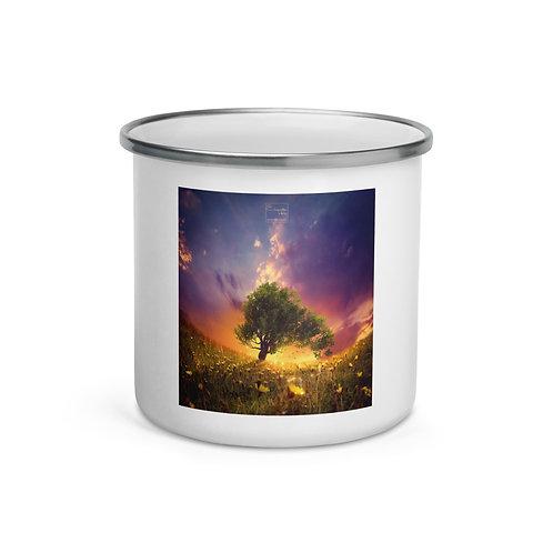 "Enamel Mug ""The Firefly Tree"" by Elysekh"