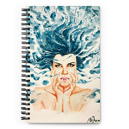 "Notebook ""Drown"" by Bikangarts"
