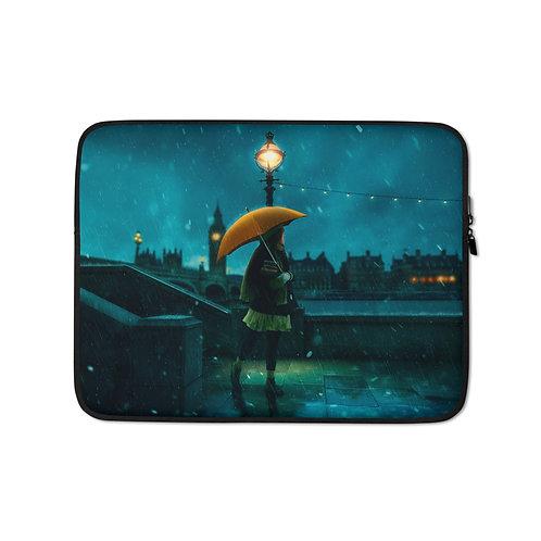 "Laptop sleeve ""Under the Rain"" by Elysekh"