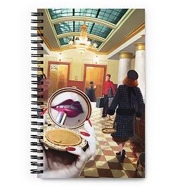 "Notebook ""Grand International Hotel"" by JeffLeeJohnson"