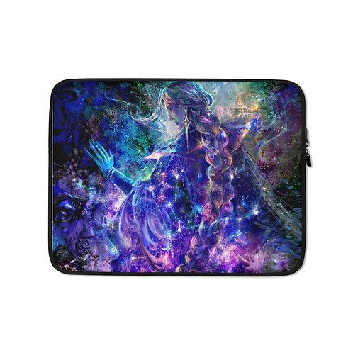 "Laptop sleeve ""Hymn of Gathering Stars"" by Solar-sea"
