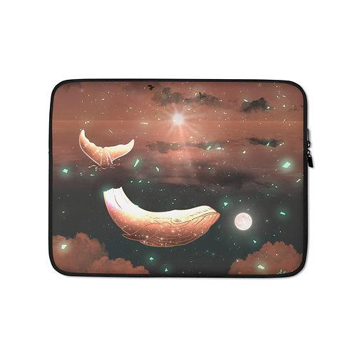"Laptop sleeve ""Clouded Dreams"" by Saddielynn"