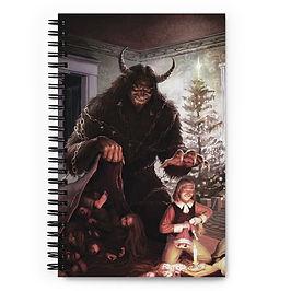 "Notebook ""Krampus"" by JeffLeeJohnson"