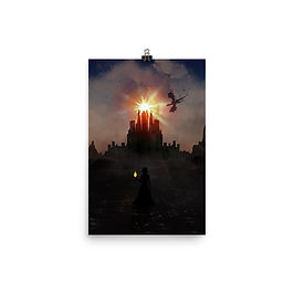 "Poster ""Dragonspire Keep"" by Saddielynn"