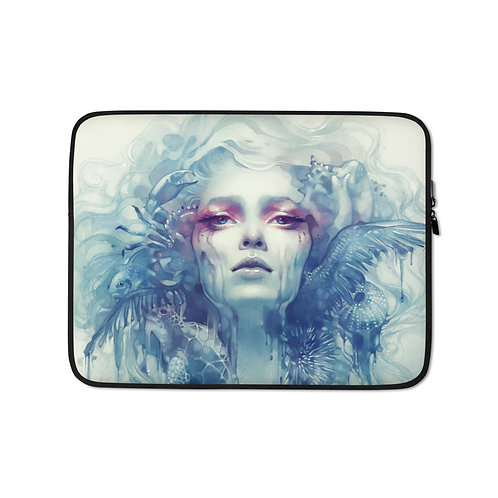 """Laptop sleeve """"Oil"""" by Escume"""