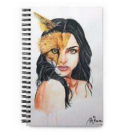 """Notebook """"A Beautiful Beast"""" by Bikangarts"""