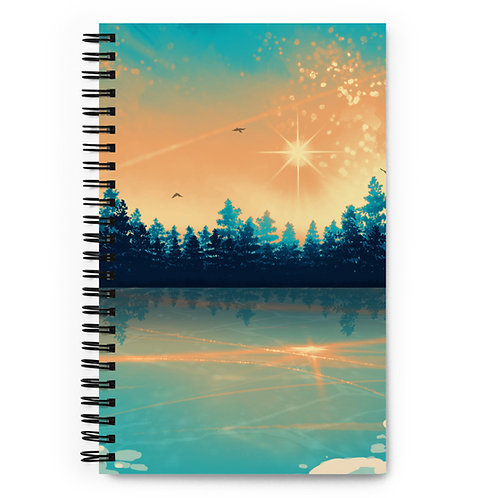 "Notebook ""Winter Reflection"" by Saddielynn"