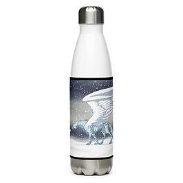 """Water Bottle """"Frost"""" by Lizkay"""