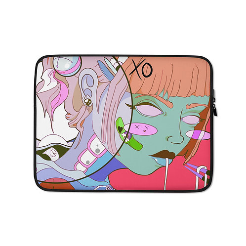 """Laptop sleeve """"Noodle"""" by MoxxiMonroe"""