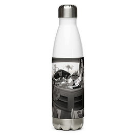 """Water Bottle """"Super Sushi 1"""" by Ccayco"""