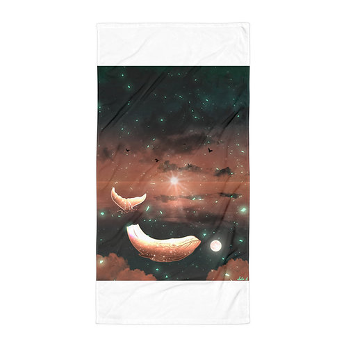 "Beach Towel ""Clouded Dreams"" by Saddielynn"