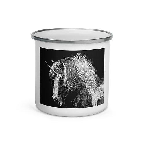 "Enamel Mug ""Unicorn"" by Beckykidus"