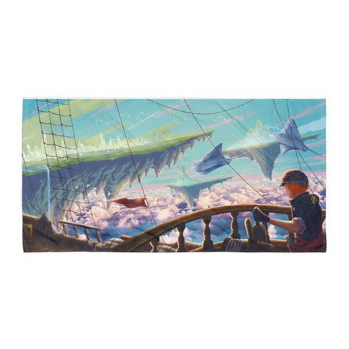 "Beach Towel ""Sea of Clouds"" by Ashnoalice"