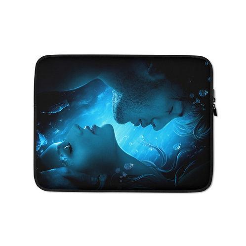 "Laptop sleeve ""Frozen Diamonds"" by ElenaDudina"