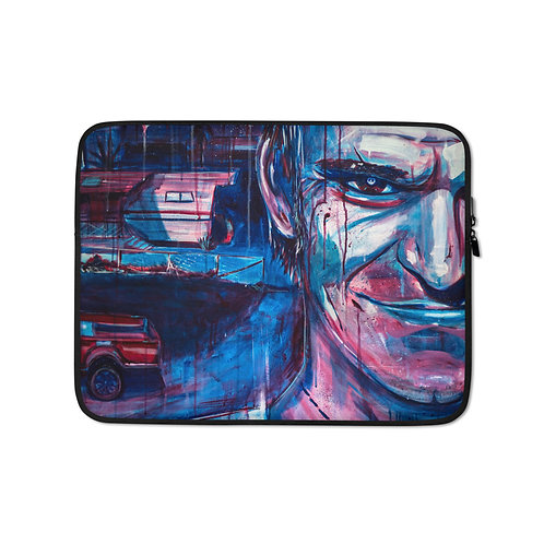 """Laptop sleeve """"Rampage"""" by MikeOncley"""