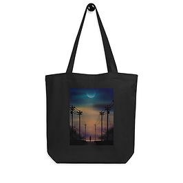 "Tote bag ""Alone"" by Saddielynn"