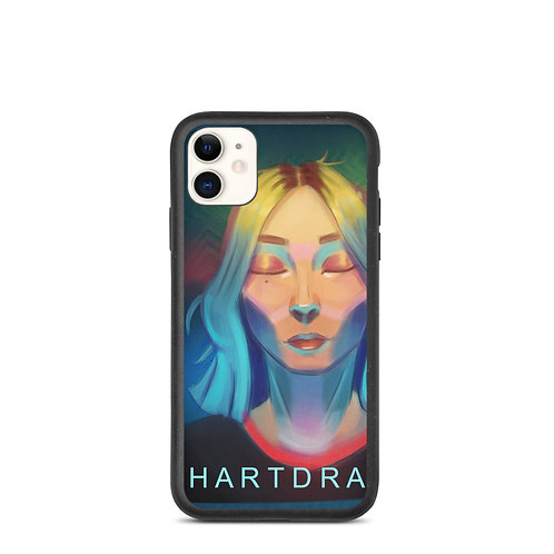 "iPhone case ""Lemon Girl"" by Hartdrawss"