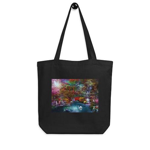 "Tote bag ""My Japanese Garden"" by ""phatpuppyart-studios"""