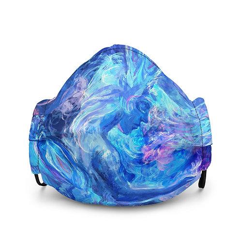 """Mask """"Mermaids Wintertale"""" by Solar-sea"""