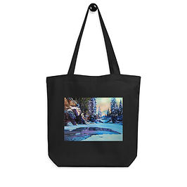 """Tote bag """"Cold Winter"""" by """"Gudzart"""""""