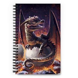 """Notebook """"Hatchling"""" by Hymnodi"""