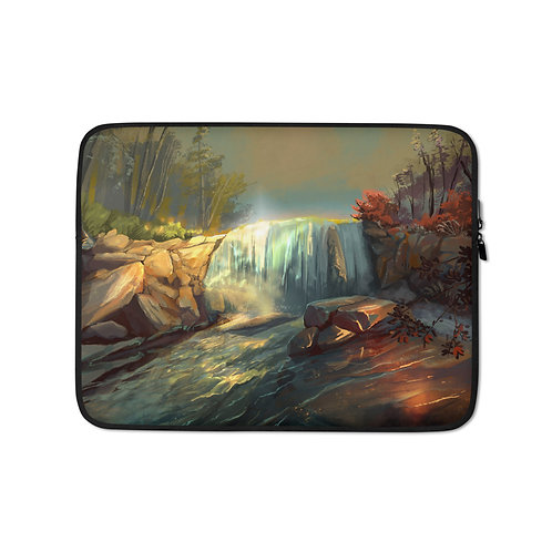 """Laptop sleeve """"Whitney Falls"""" by Chateaugrief"""