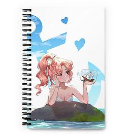 """Notebook """"Mermaid Girl"""" by Pigliicorn"""